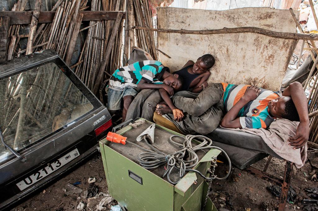 """Medienpreis in der Kategorie Print: """"Die Kinder von Benin"""" von Fritz Schaap"""