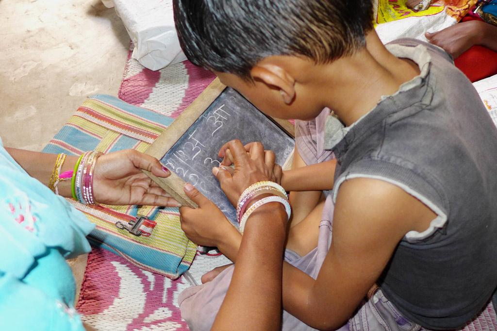 Müllsammler: In Förderklassen werden die Kinder auf den Einstieg in das reguläre Schulsystem vorbereitet.