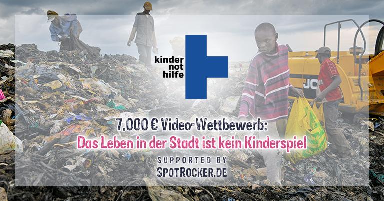 """Aufruf zum Spotrocker-Videowettbewerb """"Das Leben in der Stadt ist kein Kinderspiel"""""""