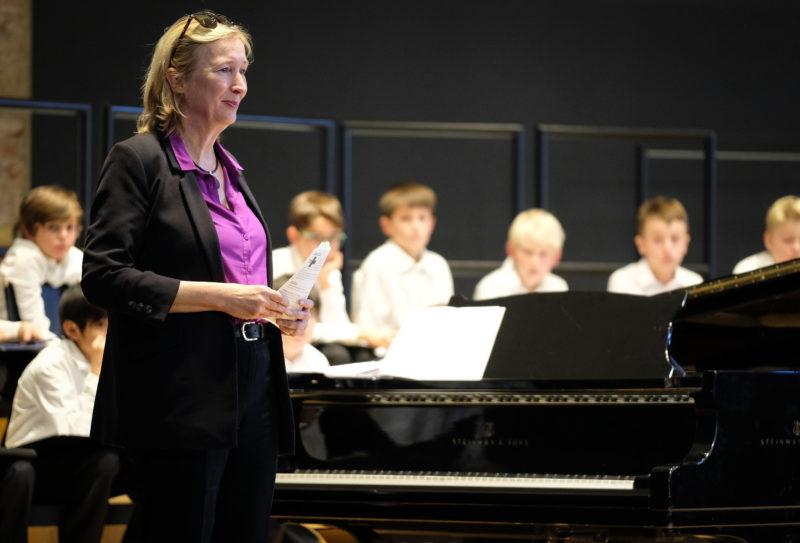 Kindernothilfe-Vorstandsvorsitzende Katrin Weidemann. (Quelle: Bastian Strauch)